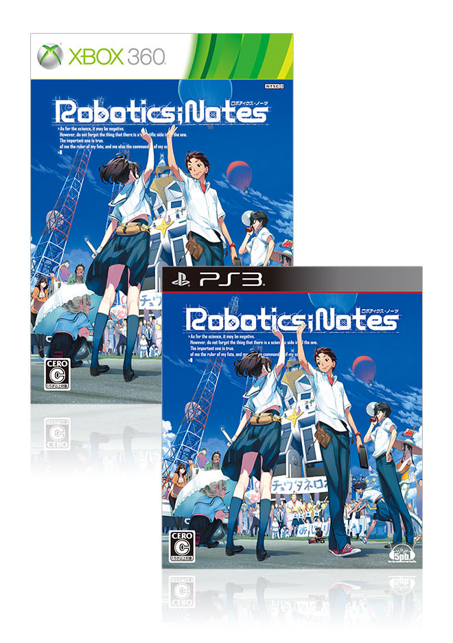 [画像]Xbox 360/PlayStation 3『ROBOTICS;NOTES』